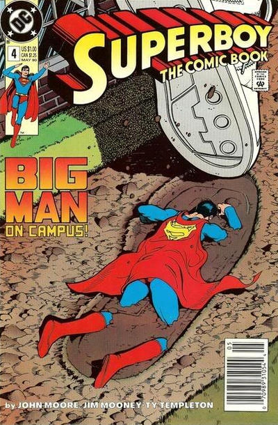 Cover for Superboy (DC, 1990 series) #4