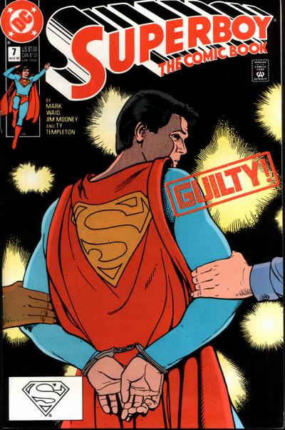 Cover for Superboy (DC, 1990 series) #7