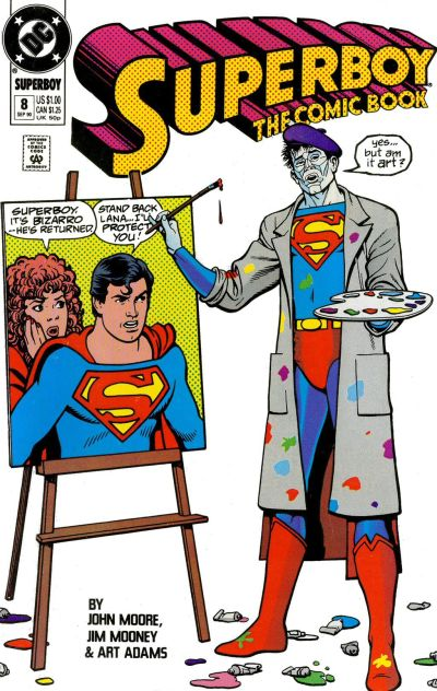 Cover for Superboy (DC, 1990 series) #8