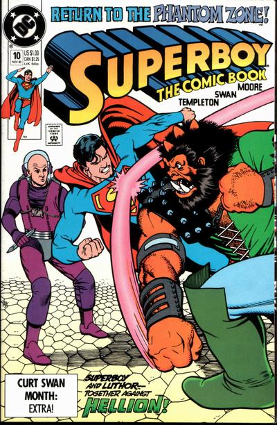 Cover for Superboy (DC, 1990 series) #10