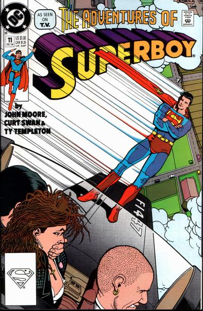Cover for Superboy (DC, 1990 series) #11