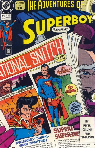 Cover for Superboy (DC, 1990 series) #13