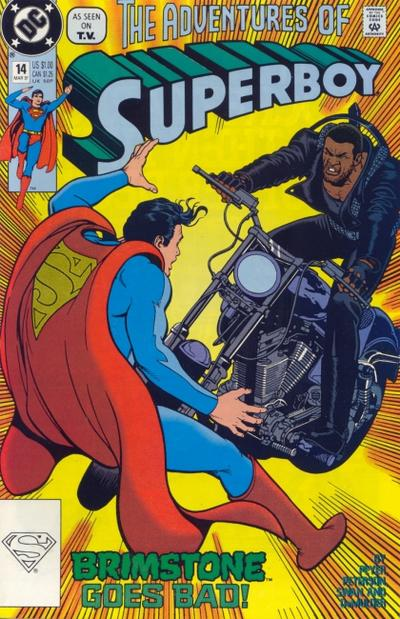 Cover for Superboy (DC, 1990 series) #14