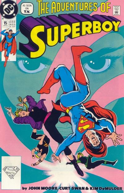 Cover for Superboy (DC, 1990 series) #15