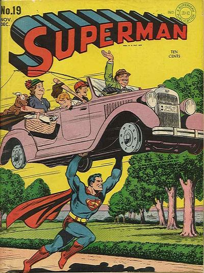 Cover for Superman (DC, 1939 series) #19
