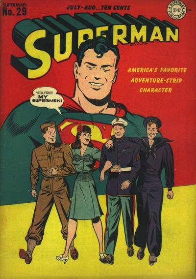 Cover for Superman (DC, 1939 series) #29
