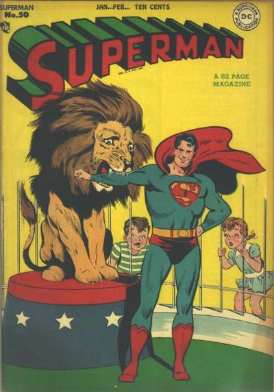 Cover for Superman (DC, 1939 series) #50