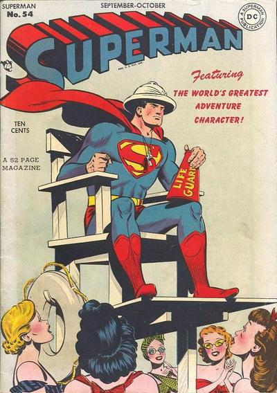 Cover for Superman (DC, 1939 series) #54