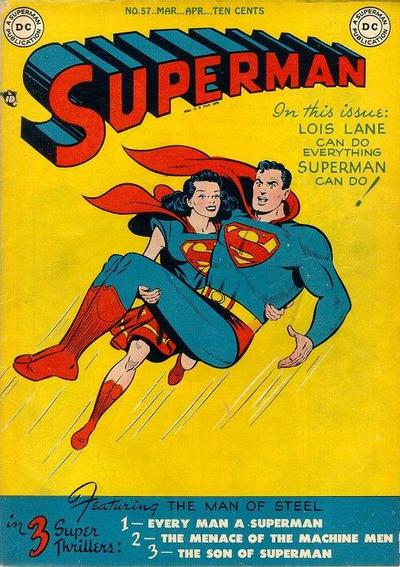 Cover for Superman (DC, 1939 series) #57