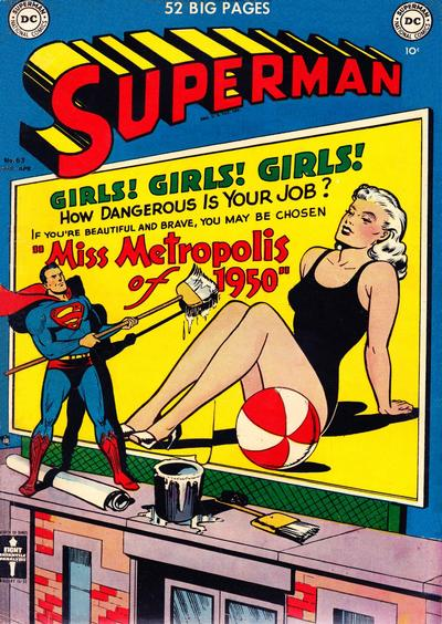 Cover for Superman (DC, 1939 series) #63