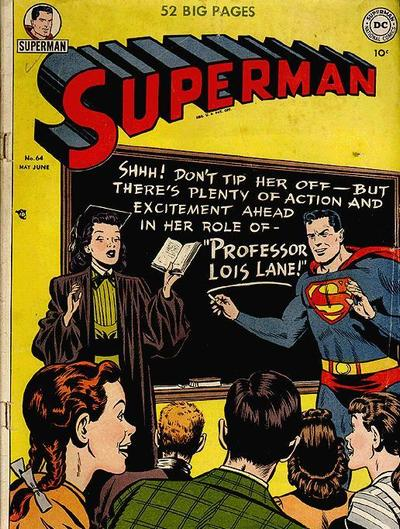 Cover for Superman (DC, 1939 series) #64