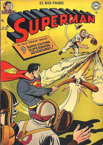 Cover for Superman (DC, 1939 series) #66