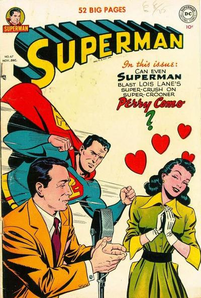 Cover for Superman (DC, 1939 series) #67