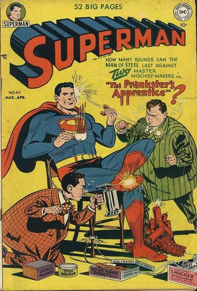 Cover for Superman (DC, 1939 series) #69