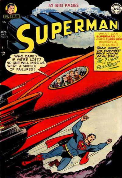 Cover for Superman (DC, 1939 series) #72