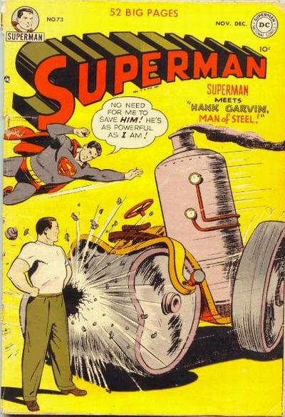Cover for Superman (DC, 1939 series) #73