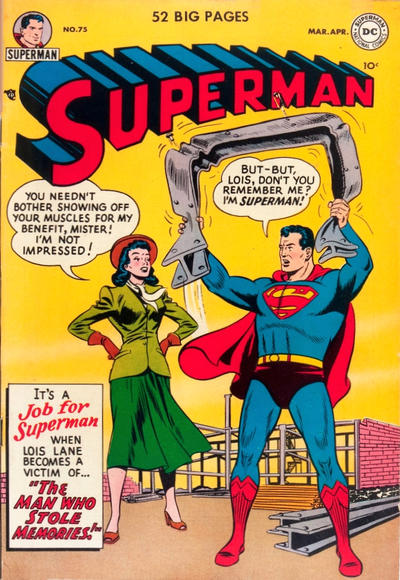 Cover for Superman (DC, 1939 series) #75