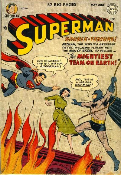 Cover for Superman (DC, 1939 series) #76