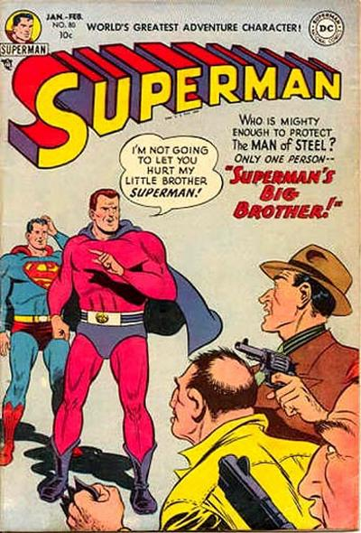 Cover for Superman (DC, 1939 series) #80