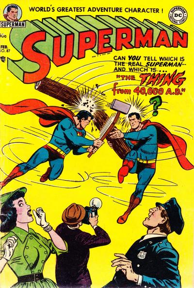 Cover for Superman (DC, 1939 series) #87