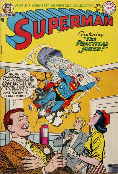 Cover for Superman (DC, 1939 series) #95