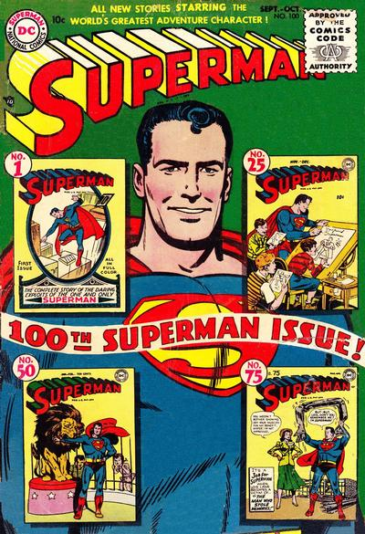 Cover for Superman (DC, 1939 series) #100