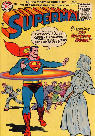 Cover for Superman (DC, 1939 series) #101
