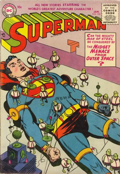 Cover for Superman (DC, 1939 series) #102