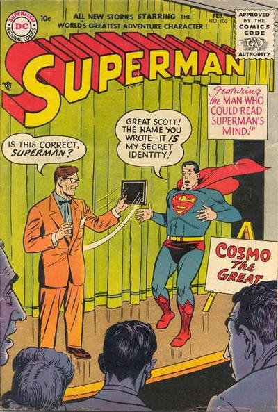 Cover for Superman (DC, 1939 series) #103