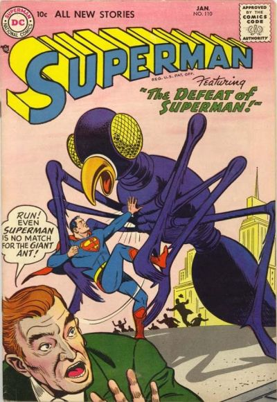 Cover for Superman (DC, 1939 series) #110