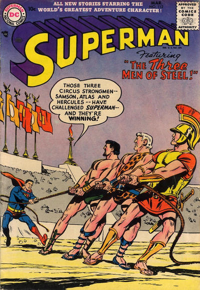 Cover for Superman (DC, 1939 series) #112