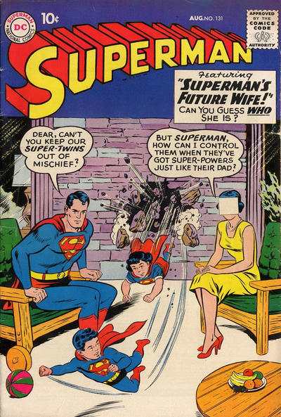 Cover for Superman (DC, 1939 series) #131