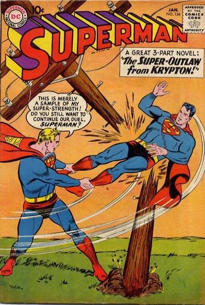 Cover for Superman (DC, 1939 series) #134