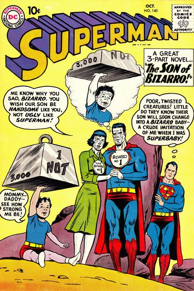 Cover for Superman (DC, 1939 series) #140