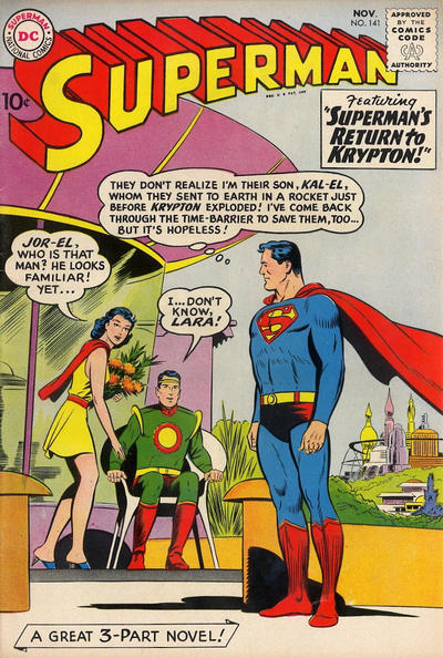 Cover for Superman (DC, 1939 series) #141