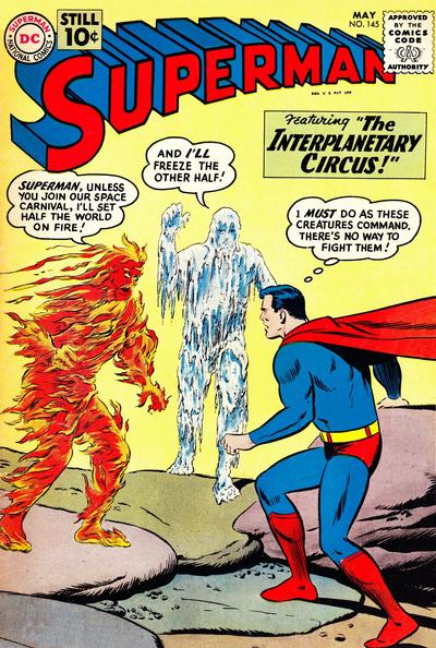 Cover for Superman (DC, 1939 series) #145