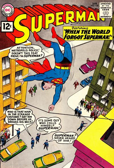 Cover for Superman (DC, 1939 series) #150