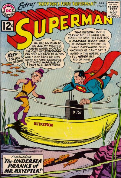 Cover for Superman (DC, 1939 series) #154