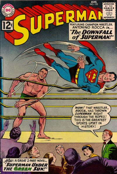 Cover for Superman (DC, 1939 series) #155