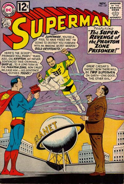 Cover for Superman (DC, 1939 series) #157