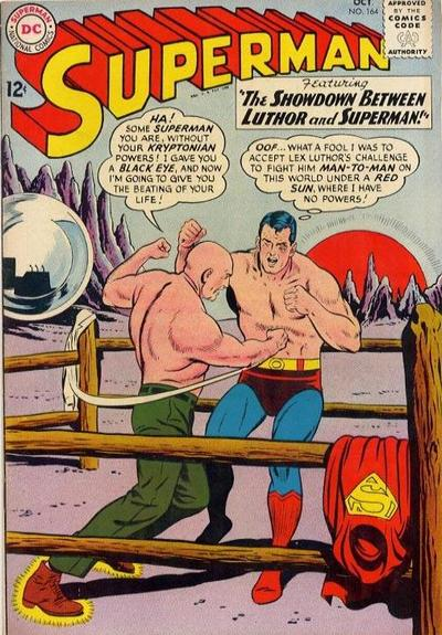 Cover for Superman (DC, 1939 series) #164