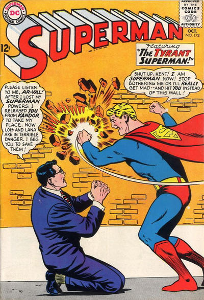Cover for Superman (DC, 1939 series) #172