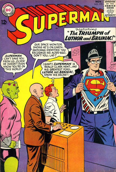 Cover for Superman (DC, 1939 series) #173