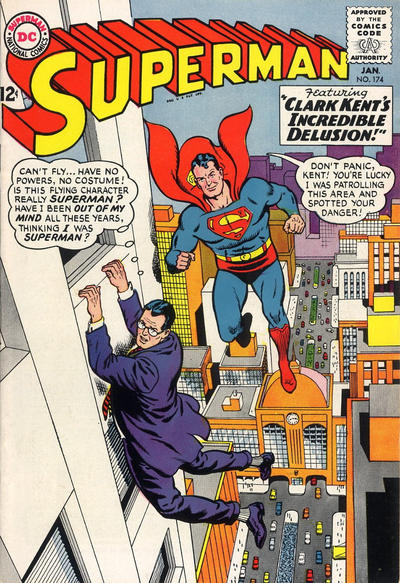 Cover for Superman (DC, 1939 series) #174