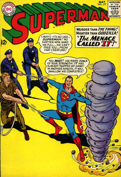 Cover for Superman (DC, 1939 series) #177