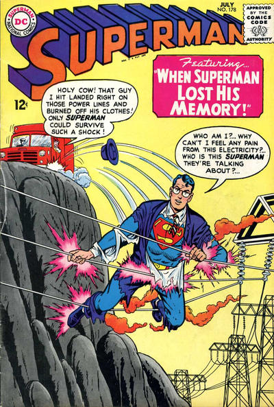 Cover for Superman (DC, 1939 series) #178
