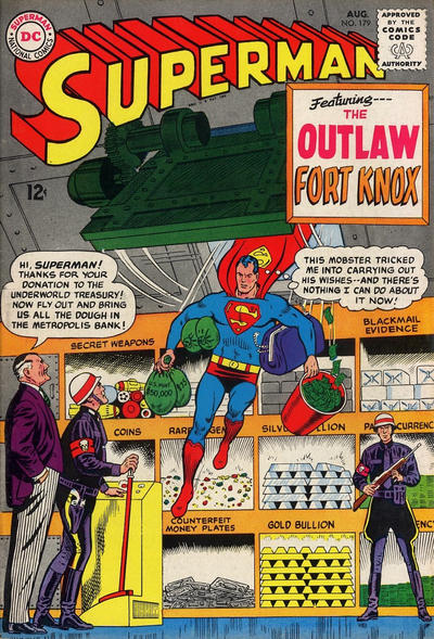 Cover for Superman (DC, 1939 series) #179