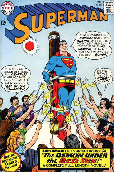 Cover for Superman (DC, 1939 series) #184
