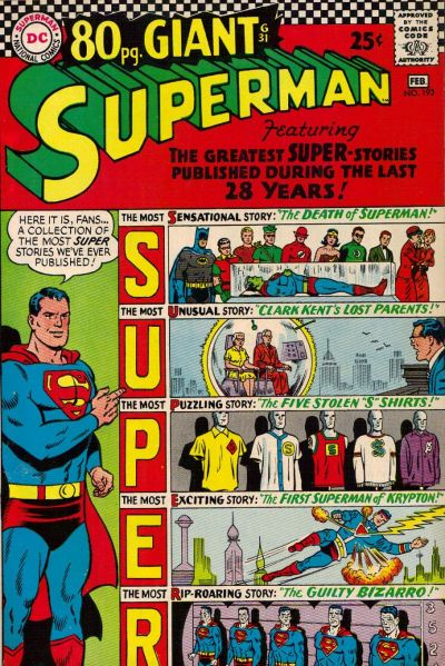 Cover for Superman (DC, 1939 series) #193