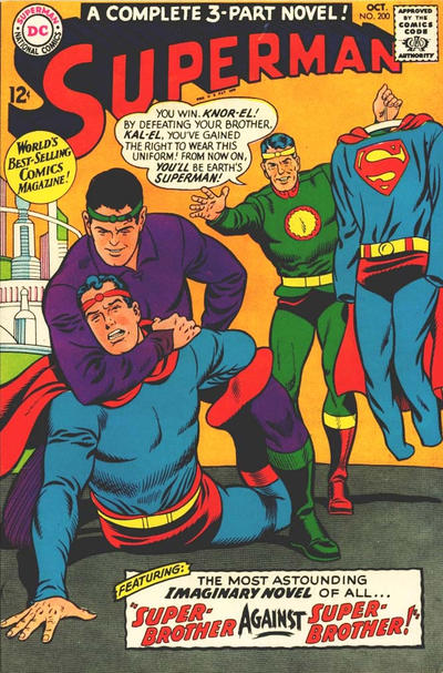 Cover for Superman (DC, 1939 series) #200